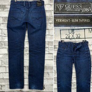 Guess Vermont Slim Tapered 29 x 33 Men's Jeans